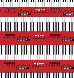 Piano Keys Pattern vector image