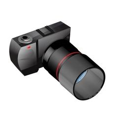 photo camera in vector image