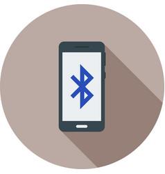 Bluetooth connectivity vector