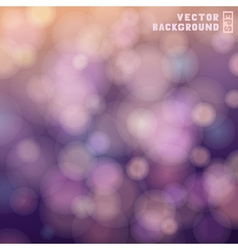 Bokeh colorful background vector image
