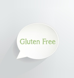 Gluten free vector