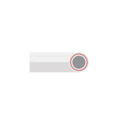 Isolated plastic flat icon drain element vector