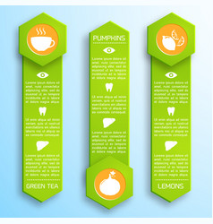 Proper nutrition infographic template vector