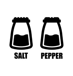 salt pepper icon vector image