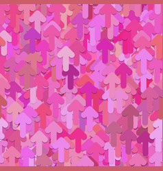 seamless random arrow pattern background - vector image vector image