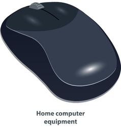 Wireless computer mouse vector