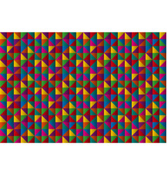 abstract mini triangles background geometric vector image vector image