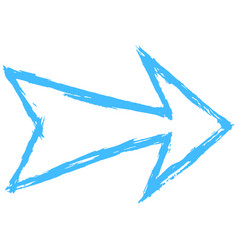 Arrow symbol drawing sketch vector