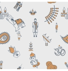 Indian festival background vector