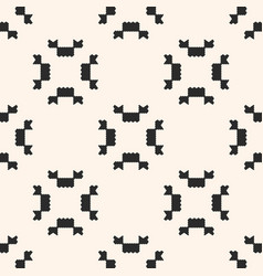 ornamental tribal geometric seamless pattern vector image