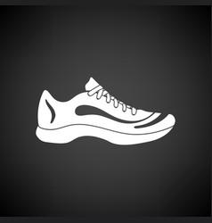 sneaker icon vector image