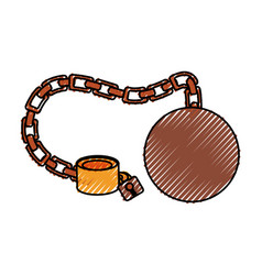 Slave chain isolated vector