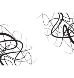 floral struggle vector image