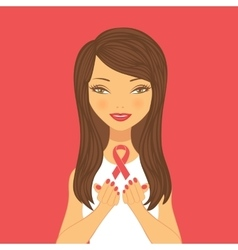 Beautiful breast cancer awareness vector