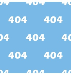 Error seamless pattern vector image