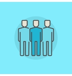 Business people icon vector image vector image