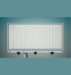 Commercial horizontal billboard vector