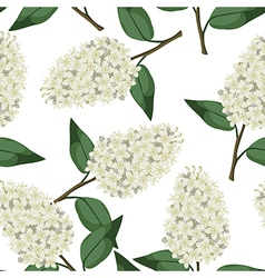Lilac white pattern vector