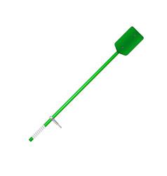 Old oar in green design vector