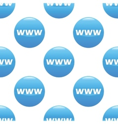 Www sign pattern vector