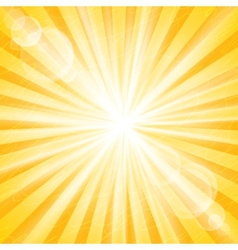 Abstract sun background vector