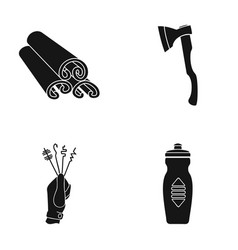 Liquid plastic accessories and other web icon in vector