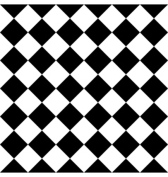 Checkered seamless background pattern of squares vector image