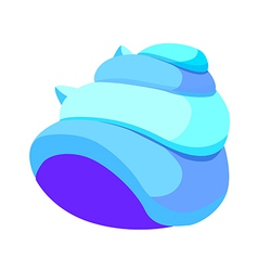 Icon conch vector