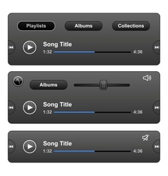 Audio player vector