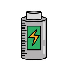 Battery charging power image vector