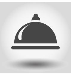Food serving vector image