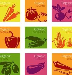 OrganicVeg vector image vector image