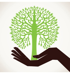 save tree concept stock vector image