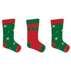Stocking vector image vector image