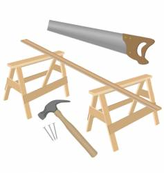 various joinery vector image