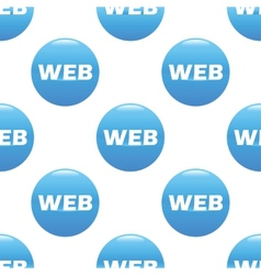 Web sign pattern vector