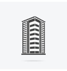 Skyscrapers House Building Icon vector image