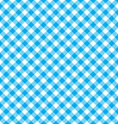Blue tablecloth diagonal background seamless vector