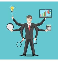 Effective competent leader multitasking vector