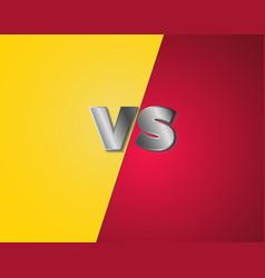game versus vs background vector image