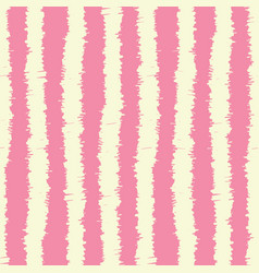 Sketchy stripes seamless pattern vector