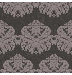 Baroque vintage floral pattern element vector
