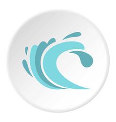 Seaway icon circle vector