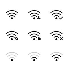 Wifi network vector