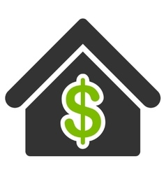 Mortgage icon from commerce set vector