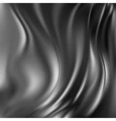 Black Abstract Silk Background vector image