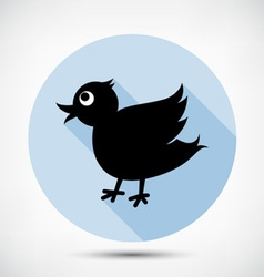 Small Cute Bird vector image vector image