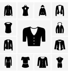 Woman clothes vector image