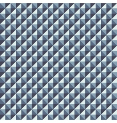 Pattern from of volume silvery rhombuses vector