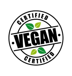 Vegan menu design vector